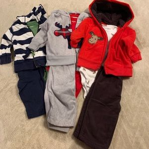 Set of carters outfits